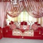 صالونات مغربية ديكور تقليدي Salons Marocains Beldi Nouvelle Collection Model 2