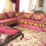صالونات مغربية ديكور تقليدي Salons Marocains Beldi Nouvelle Collection Model 3
