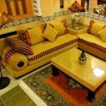 صالونات مغربية ديكور تقليدي Salons Marocains Beldi Nouvelle Collection Model 5