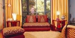 صالونات مغربية ديكور تقليدي Salons Marocains Beldi Nouvelle Collection Model 6