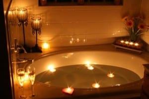 أفكار ديكور حمامات رومنسية - 6