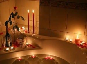 أفكار ديكور حمامات رومنسية - 9