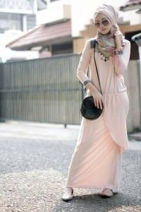 فساتين 2014 على الموضة للمحجبات - 4