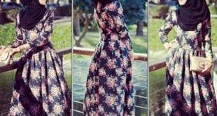 فساتين 2014 على الموضة للمحجبات - 5