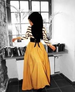 فساتين 2014 على الموضة للمحجبات - 8