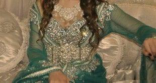 صور جميلة لقفطان العروس 2014 - 2