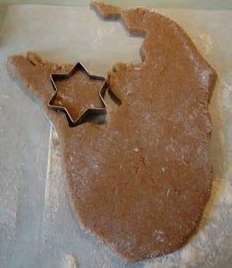 عمل كوكيز عيد الميلاد بالشكولاتة - 2
