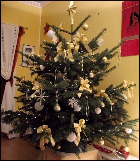 Decoration Du Sapin De Noel حسناء