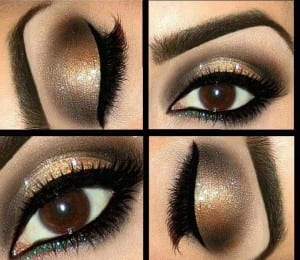 Maquillage de soirée pour Noel 2014 - Automne-Hiver