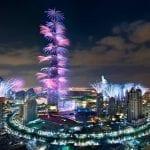 صور جميلة للألعاب النارية من دبي 2014 - 1