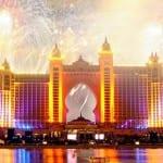 صور جميلة للألعاب النارية من دبي 2014 - 2