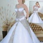 فساتين عروس 2014 شرقية - 1