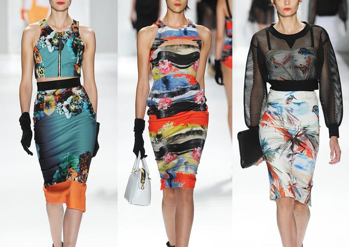 الموضة الدارجة لربيع و صيف 2014