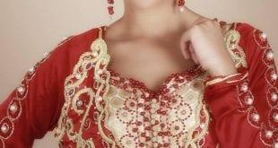 صور جميلة لقفاطين المغربية بمناسبة رمضان الذي تعرضه ليلى حديوي