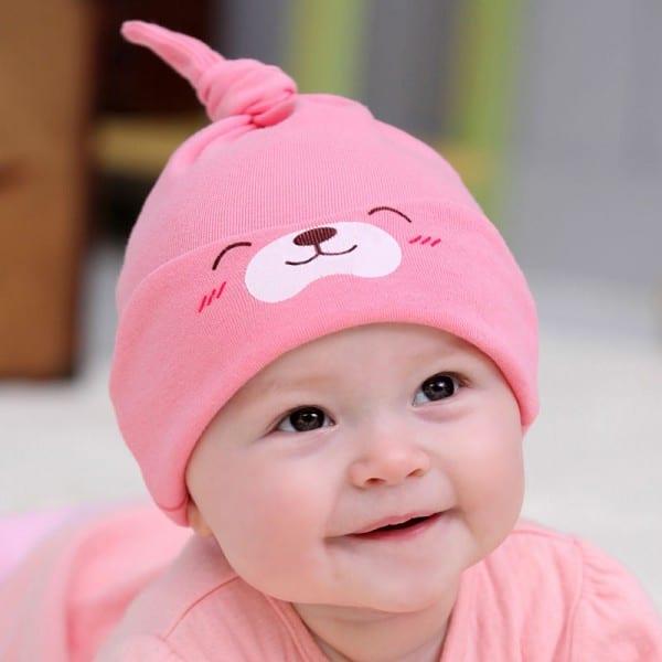 حقيبة الولادة و مستلزمات البيبي - قبعة قطنية
