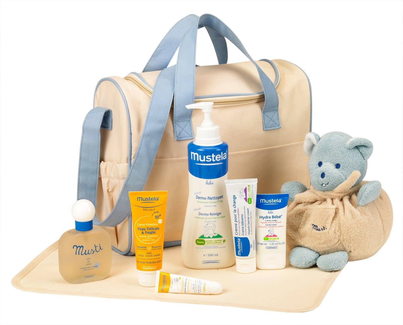 حقيبة الولادة و مستلزمات البيبي - مستلزمات الحمام