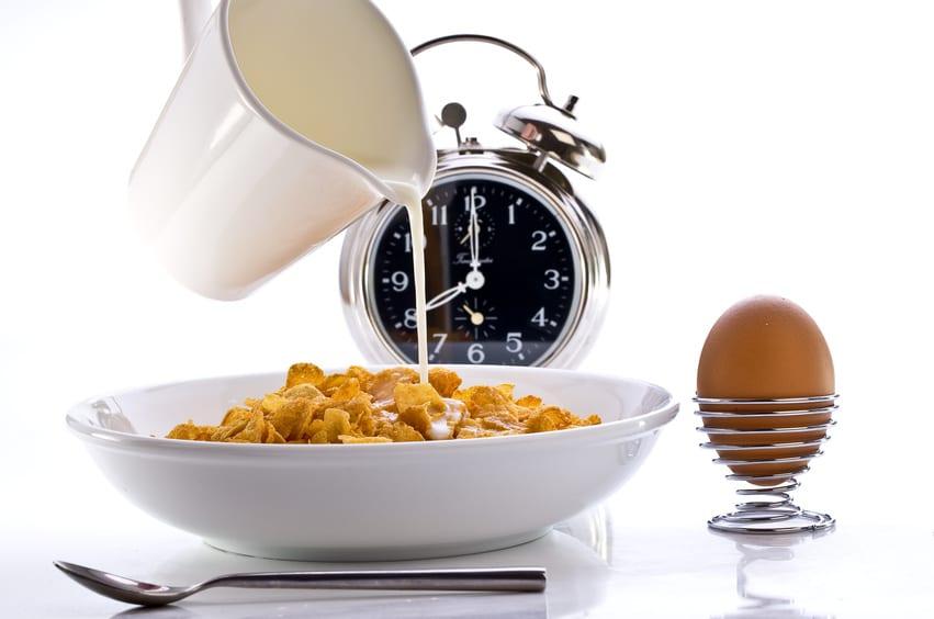 أهمية أوقات تناول الطعام