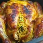 دجاج محشو بالشعرية الصينية
