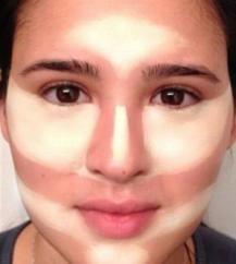 أسرار و طرق تحديد الوجه بالمكياج - 1
