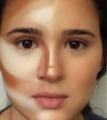 أسرار و طرق تحديد الوجه بالمكياج - 3
