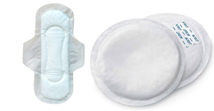 حقيبة الولادة و مستلزمات الأم - حفاضات