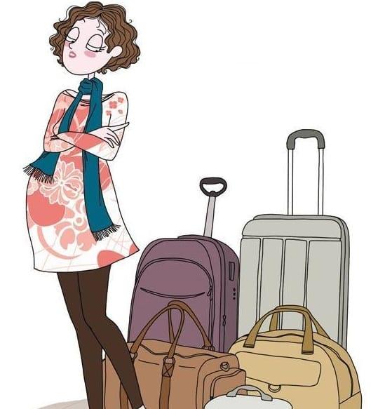 حقيبة الولادة و مستلزمات الأم في المستشفى