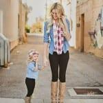 موضة أمهات و أطفال 2016 - 2