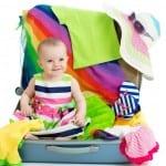 تجهيز شنطة السفر للأطفال