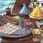 ديكور مغربي تقليدي لتزيين مائدة رمضان