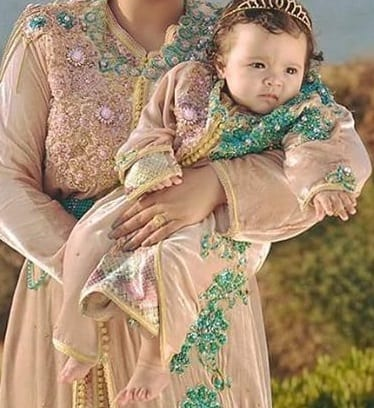 أحلى موديلات قفاطين مغربية للأطفال