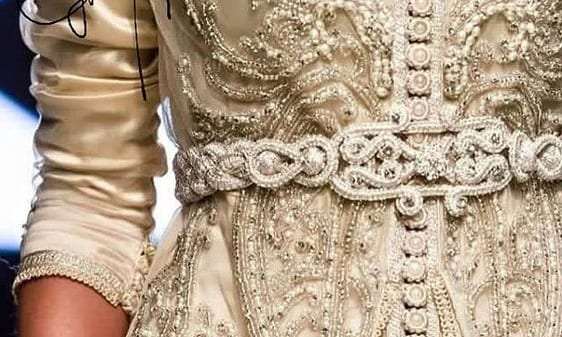 أحزمة القفطان المغربي موديلات جميلة