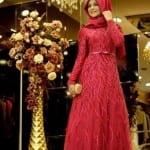 فساتين سهرة من الحجاب التركي 2016 - 6