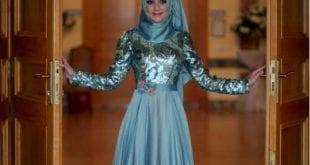 فساتين سهرة من الحجاب التركي 2016 - 7