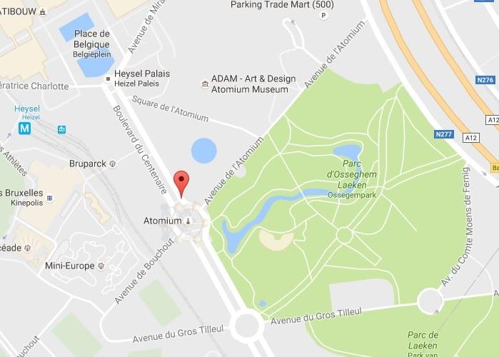 دليلك السياحي لمدينة بروكسل عاصمة بلجيكا - Atomium 4
