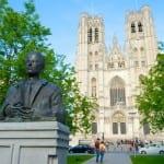 دليلك السياحي لمدينة بروكسل عاصمة بلجيكا - Cathédrale Saints-Michel-et-Gudule 2