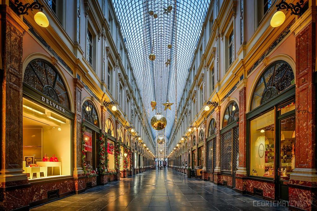 دليلك السياحي لمدينة بروكسل عاصمة بلجيكا - Galerie de la Reine 2