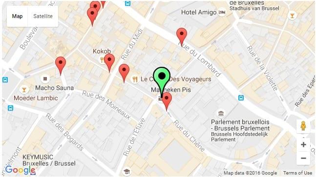 دليلك السياحي لمدينة بروكسل عاصمة بلجيكا - Manneken Pis 1