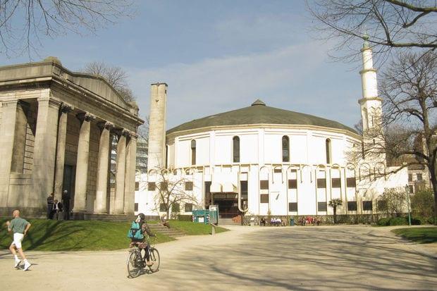 دليلك السياحي لمدينة بروكسل عاصمة بلجيكا - La Grande Mosquée de Bruxelles