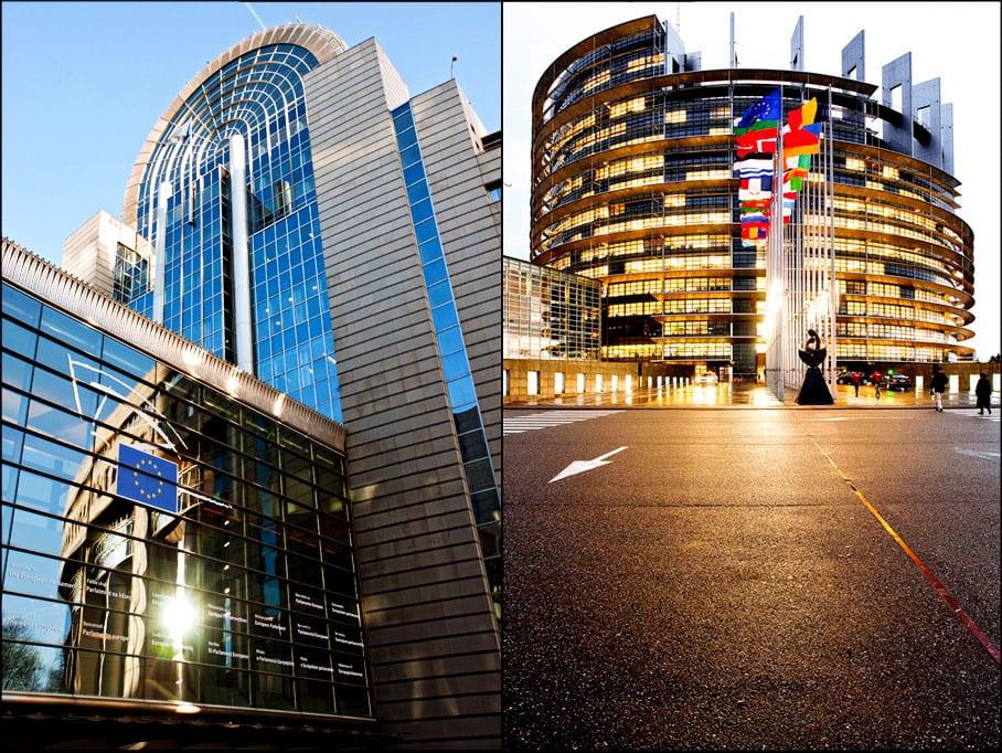دليلك السياحي لمدينة بروكسل عاصمة بلجيكا - Parlement Europeen 3