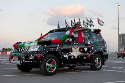 ديكور سيارات في اليوم الوطني للإمارات - 4