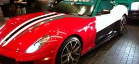 ديكور سيارات في اليوم الوطني للإمارات
