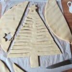 Préparation du Sapin Feuilleté pour Noël - Etape 4