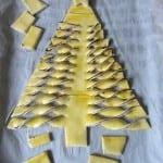 Préparation du Sapin Feuilleté pour Noël - Etape 5