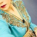 أجمل قفطان مغربي لشتاء 2017