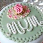 أفكار لتزيين كيكة عيد الأم - 1