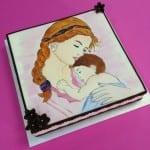 أفكار لتزيين كيكة عيد الأم - 3