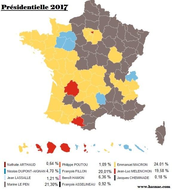 Presidentielle 2017 Résultats par commune