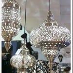 صالونات مغربية 2017 مزينة بفوانيس رمضان 2017 - 2