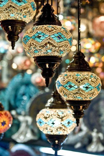 صالونات مغربية 2017 مزينة بفوانيس رمضان 2017 - 4