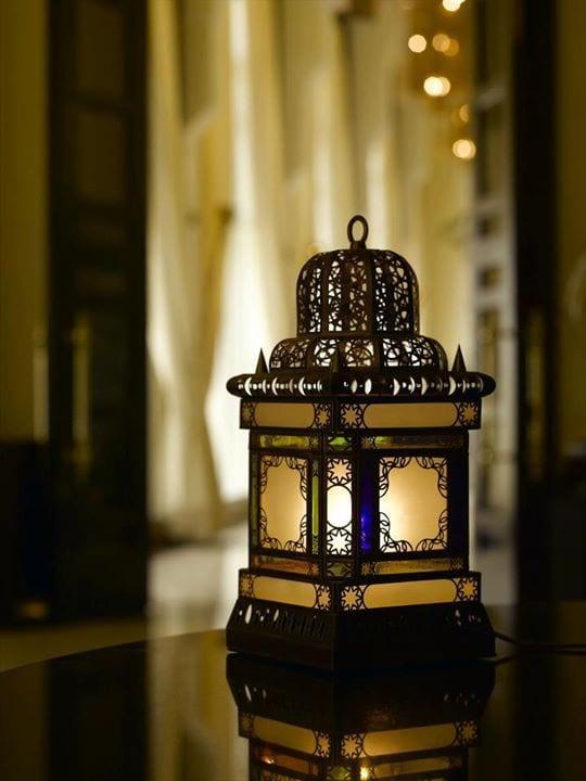 صالونات مغربية 2017 مزينة بفوانيس رمضان 2017 - 8